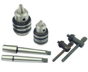 Drill Chuck Set of 2. 6mm and 10mm Drill Chuck with 1mt Arbor. M9301